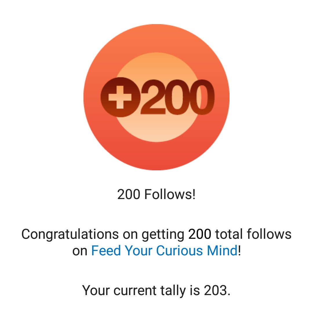 Celebrating Small Wins (Thank You for 200+ Followers)