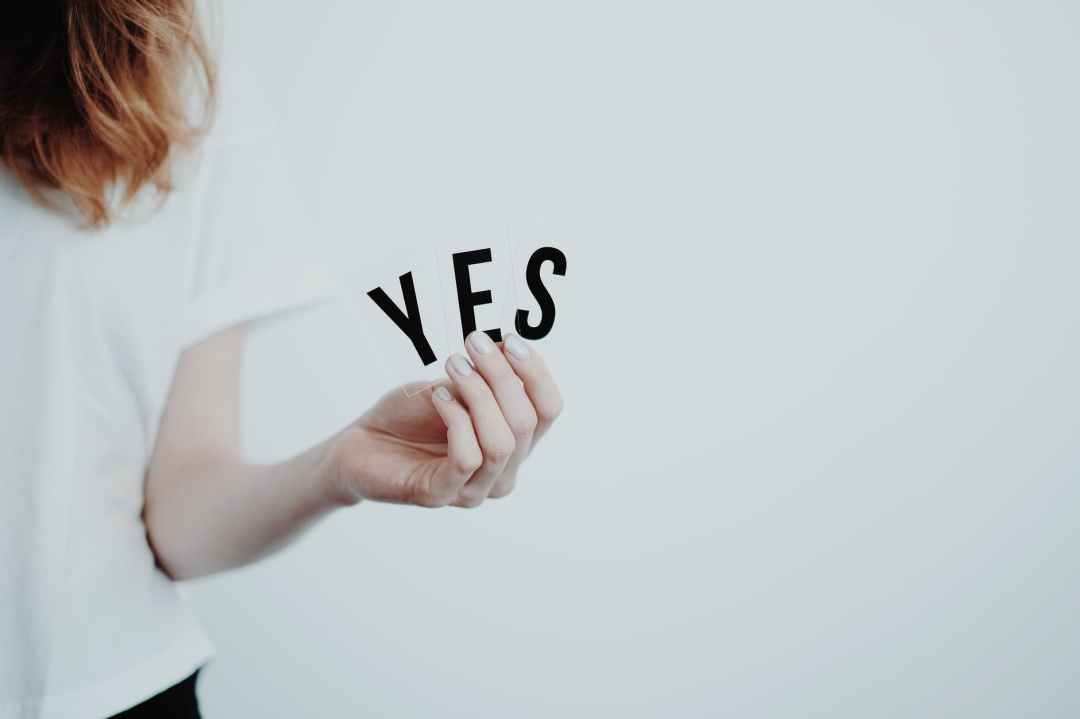 reasons why you should say yes more often