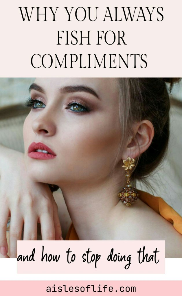 fishing for compliments definition