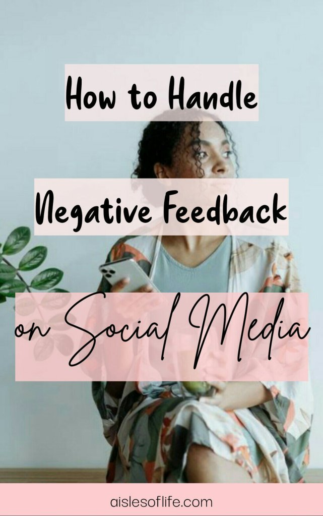 How to handle negative feedback on social media   5 Ways to deal with negative comments online