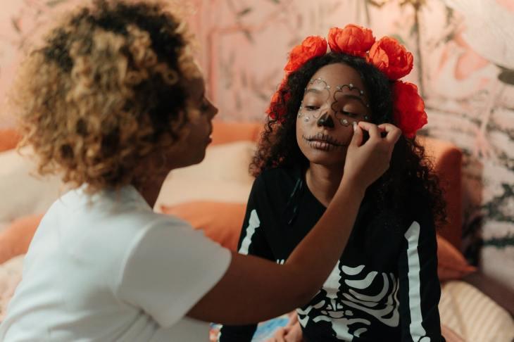 Halloween makeup ideas for kids