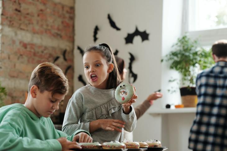 Halloween party for kids foods